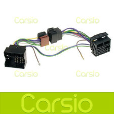 Citroen C3 Hands Free Parrot/Bluetooth ISO Adaptor Lead Connector Harness