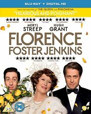 Florence Foster Jenkins (2016) Meryl Streep, Hugh Grant NEW UK REGION B BLURAY