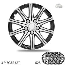 New 15 inch Hubcaps Wheel Covers Full Lug Skin Hub Cap Set 528 For VW