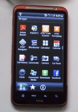 Nice UNLOCKED HTC Inspire Red 4G LTE ANDROID WIFI TOUCHSCREEN CAMERA CLEAN IMEI