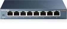 TP-Link TL-SG108 8-Port Gigabit Metal Housing Desktop Ethernet Network Switch