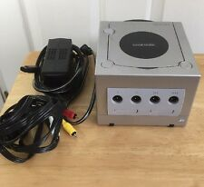 Nintendo GameCube Platinum Silver Console System Tested Fast Shipping