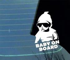 Cool Baby on Board car van window sticker many colours VW jdm
