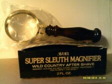 VTG 1979 Avon SUPER SLEUTH MAGNIFIER WILD COUNTRY-NEW IN BOX-FREE SHIPPING