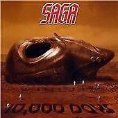 SAGA '10,000 DAYS' (2007) CD