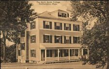 Northampton MA Smith College The Quill c1910 Postcard