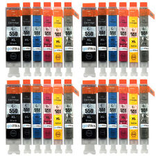 24 Ink Cartridges for Canon Pixma iP8750 MG6350 MG7150 MG7550 MX925