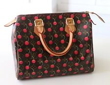 LOUIS VUITTON CERISE SPEEDY 25, TAKASHI  MURAKAMI, Used