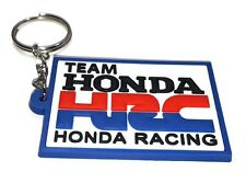 NEW HONDA RACING TEAM MOTORCYCLE HRC KEYCHAIN MOTOR SPORT RACING RUBBER RU158