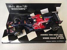 2008 Sebastian Vettel / Toro Rosso Str3 ITALIA GP-Minichamps 1:43 - 400 080115
