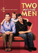 New Two and a Half Men Charlie Sheen First  Season (DVD, 2007, 4-Disc Set)