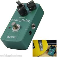 JOYO JF-33 True Bypass Design Electric Guitar Analog Delay Effect Pedal - Green