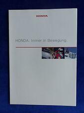 Honda Motoren - Autos S2000 Motorräder CBR1100 Boote - Prospekt Brochure 05.1999