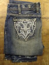 J and Company ( Bev Rocks) blue womens jeans 26' 32L