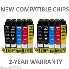 10 Pack NON OEM T200XL Ink CARTRIDGE FOR Epson Expression XP 200 XP 300 XP 310