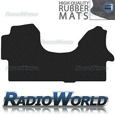 Mercedes Sprinter 2006 Onwards Black Floor Rubber Tailored Van Mat 3mm 1pc Set