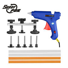 Super PDR Tools 100W Glue Gun Puller Bridge Paintless Dent Removal Repair Kit