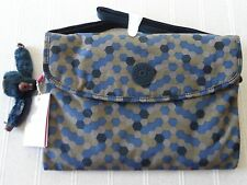 NEW DIVINE  KIPLING DREW, DEEP DOT PRINT, IPAD/TABLET HOLDER HANDBAG  RRP £55