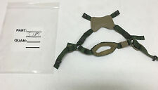 GENTEX ACH #ELMET 4 POINT REPLACEMENT CHIN STRAP WITH HARDWARE S/M NEW MSA