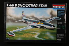 YF029 MONOGRAM 1/48 maquette avion 74003 F-80 B Shooting Star 77 Pièces F80B