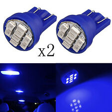 2PCS Blue T10 W5W 194 168 501 Car/Auto/Motor 8LED 3020 SMD Wedge Side Light Bulb