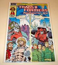 The TRANSFORMERS : REGENERATION ONE # 91 Cover B  IDW Comic May 2013  NM