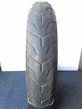 Dunlop D408F Harley Davidson 130 80 17 FRONT Motorcycle Tyre Thin White Wall