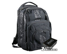 Sullen Tattoo Blaq Paq Onyx Art Travel Backpack Artist Bag Black with 2 Cases