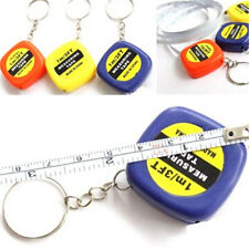 FD215 Easy Keychain Retractable Ruler Tape Measure Small Portable Pull Ruler G