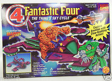 FANTASTIC FOUR THING SKY CYCLE BOX DELUXE EDITION MARVEL PLAY SET SPACE ROCKET X