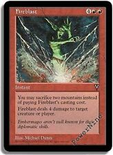 4 PLAYED Fireblast - Visions MtG Magic Red Common 4x x4