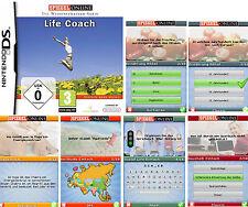 LIFE COACH Spiegel Online Die Wissenstrainer-Serie Nintendo DS Spiel Fragenspiel