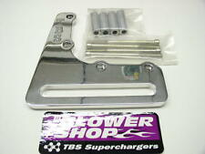 BLOWER SHOP 4120 POLISHED SUPERCHARGER BILLET IDLER BRACKET