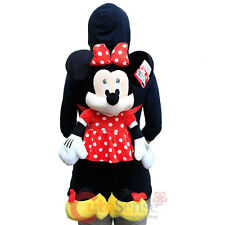 Disney Minnie Mouse Plush Doll Backpack Costume Bag Cushion Pillow - Giant Size