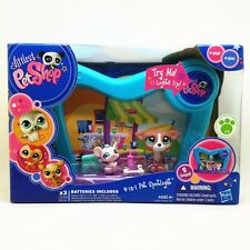 New Littlest Pet Shop 2 in 1 Pet Spotlight #1585 #1586 with accessories A79S