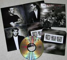 MINI LP CD VYNIL RÉPLICA + POSTER  RUSH / PRESTO