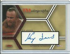 Billy Gunn Kip James 2008 TNA Auto/25 New Age Outlaw MR ASS Man Autograph WWE