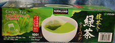 Green Tea ITO EN Kirkland Signature Sencha + Matcha 100 Tea Bags Japan