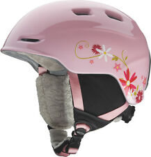 Smith ZOOM Jr Snowboard Ski Wintersports Helmet Youth medium 53-58cm PINK DAISY