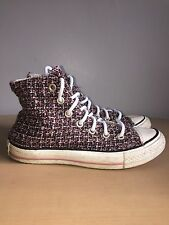 Converse Hi-tops Size UK 4 Rare Unique Limited Edition