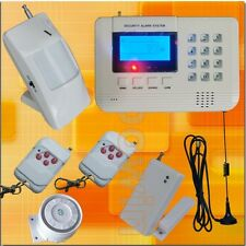 315MHz Wireless GSM PSTN Home Security Burglar Alarm System Auto Dialer SMS Call