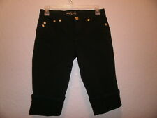 BABY PHAT  WOMEN'S  BLACK SHORTS JEANS SIZE 3