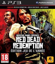 RED DEAD REDEMPTION  - EDITION JEU DE L'ANNEE - GAME OF THE YEAR EDITION --  PS3