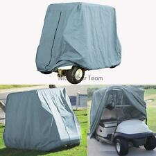 2 PASSENGER GOLF CART COVER Fit EZ GO Club Car Yamaha Eagle Taupe Storage 95''