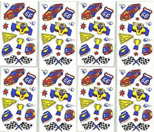 Frances Meyer RACE CAR Scrapbook Stickers! SPEED Racing 8 Sheets!