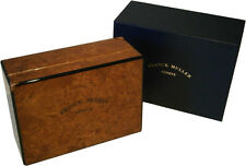 Authentic Franck Muller Burl Wood Watch Box