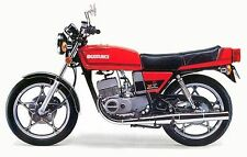 suzuki gt250 x7 paintwork decal set ,restoration.