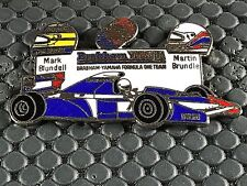 PINS PIN BADGE CAR F1 FORMULE 1 YAMAHA BRAHHAM SIGNE MFS
