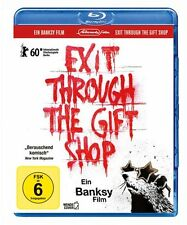 Banksy - Exit through the Gift Shop - Blu-ray Disc NEU + OVP!