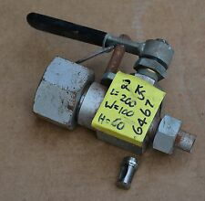 Valve A1711 possibly Squibb Taylor excess gas flow valve for NH3 and LPG